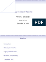Support Vector Machines and kernels