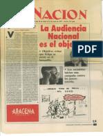 Acto de MCE-AJE en Pontevedra) La Nación nº 245. 30 de abril de 1997.