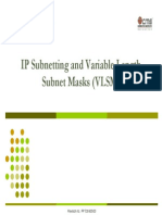 03 Ip Subnetting and Variable Length Subnet Masks