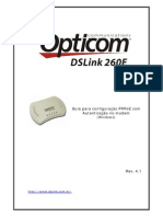 Manual DSLink 260E Opticom Rev 4.1