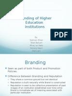 Branding of HEI