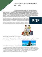 El Observatorio Del Turismo Rural Presenta En INTUR Su Informe Sobre Castilla Y León