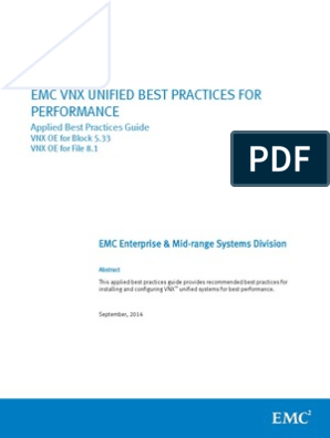 Vnx-best-practices for Pool Fastvp Fast Cache | Flash Memory