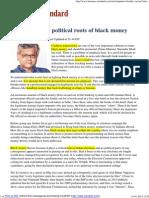 Black Money Cashless Transfer