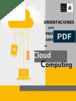 Orientaciones Cloud