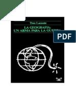 La Geografia_un Arma Para La Guerra - Yves Lacoste