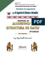 Manual Algoritmos y Estructura de Datos