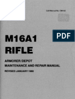 M16A1 Armorer's Manual - Colt CM102