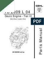 Deutz TD 2009 L4 Engine