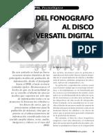Del Fonógrafo Al Disco Versátil Digital (DVD)