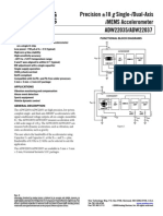 Accelerometer datsheet