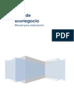 Plan Bionegocio-Manual Para Su Elaboracion