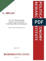 PERI study on minumum wage