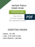 Presentasi Kasus Atresia Ani
