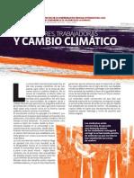 Trabajadores, Trabajadoras y Cambio Climático