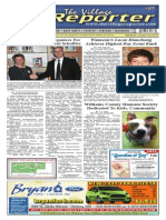 The Village Reporter - January 21st, 2015