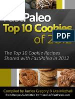 FastPaleo Top 10 Cookies of 2012