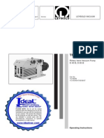 Leybold TRIVAC D40B Manual