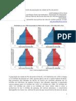 O decrescimento da população da cidade do Rio de Janeiro