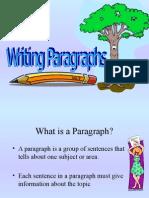 Paragraph Lesson Powerpoint