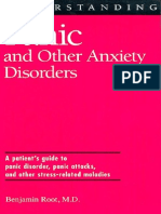 Benjamin a. Root Understanding Panic and Other Anxiety Disorders 2000