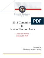 SOS Election Study Group - Committee Report