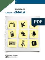 Mapping Digital Media Guatemala Es 20140709df
