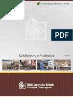 Catalogo Produtos Rdg Acos Do Brasil