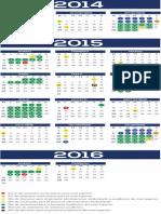 Calendario 2015 Superior