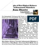 Biography of Bana Bhante