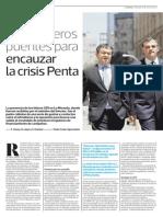 2015 01 18 - La Tercera - Los Primeros Puentes Para Encauzar La Crisis Penta