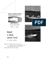 Sports Boat, Build a Sleek