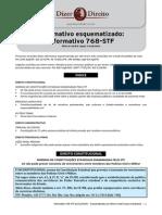 STF -  INFORMATIVO Esquematizado 768 STF - postado  terça-feira, 6 de janeiro de 2015 - OK.pdf