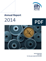 233.ASX ILH Sept 30 2014 Annual Report