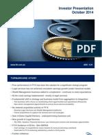 236.ASX ILH Oct 22 2014 Investor Presentation