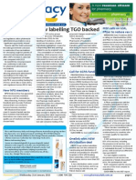 Pharmacy Daily for Wed 21 Jan 2015 - New labelling TGO backed, Vic vax 'missed opp', MSF calls for vax price reduction, Health, Beauty and New Products, and much more