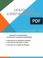 Presion de Confinamiento, Boveda de Presion (1)