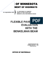 Flexible Pavement Evaluation With the Benkelman Beam