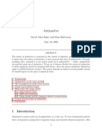 Antimatter(Theory) [PDF Search Engine]