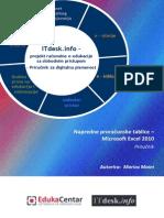 Prirucnik Napredne Proracunske Tablice-Microsoft Excel 2010