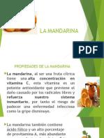 Propiedades de la Mandarina