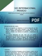 DERECHO INTERNACIONAL PRIVADO - CASO.pptx