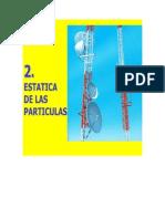 Estatica de Particula-2d