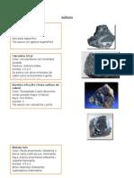 reconocimiento de minerales