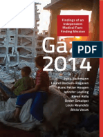 Gaza, 2014 Findings of an independent medical fact-finding mission