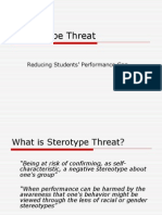 Stereotype Threat.ppt