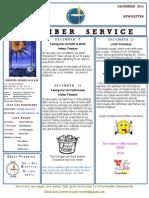 Luuf Newsletter Dec 2014