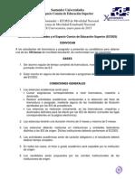 Beca Santander ECOES de Movilidad Nacional