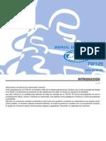 TW125 Manual Del Propietario 2004