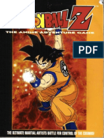 Dragonball Z RPG - Anime Adventure Game - Core Rules
